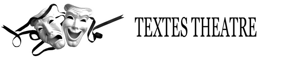 Textes Théâtre